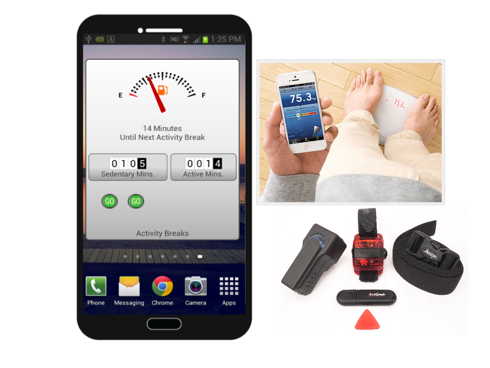 smartphone wearables and bluetooth scale
